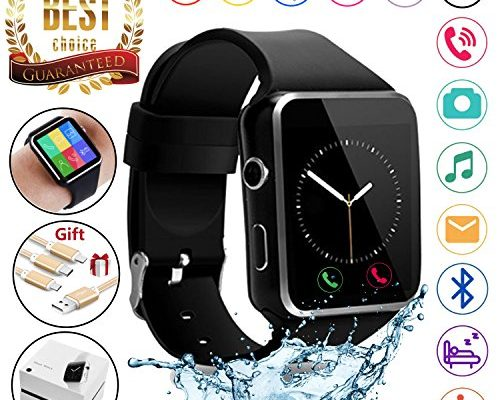 2018 Newest Bluetooth Smart Watch Touchscreen with Camera,Un...