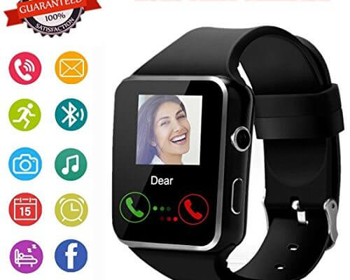 Smartwatch, Bluetooth Smart Watch Phone with SIM Card Slot P...