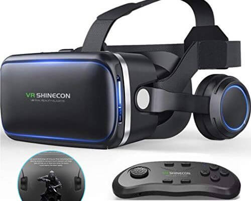 VR Glasses Virtual Reality Headset, Suitable for Games and 3...