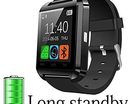 DOESIT Smart Watch, Touch Screen Smart Wrist Watch Bluetooth...