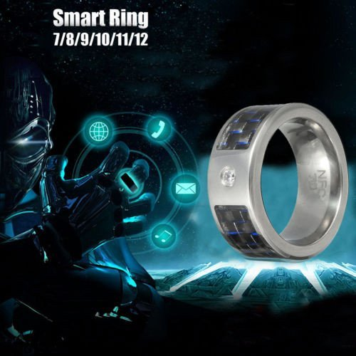 WJX 2018 Newest NFC Magic Wearable Waterproof Smart Ring Uni... 3