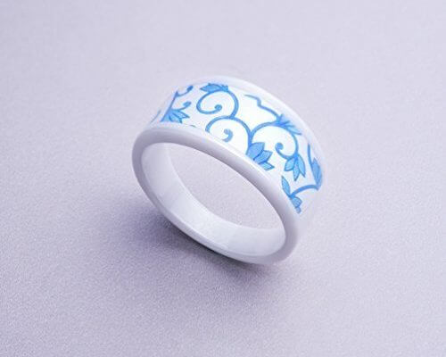 Keydex NFC Multi-Function Ring #12 (2.10 in), Fine Ceramic, ...