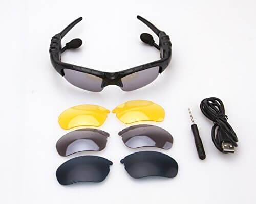 SMART BLUETOOTH GLASSES, WHICH CAN CONNECT TWO PHONES SIMULT...
