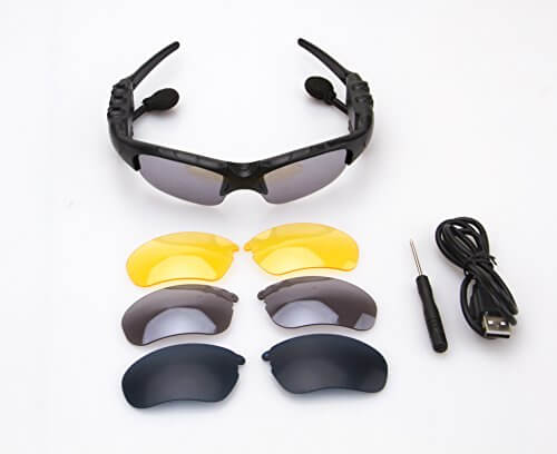 SMART BLUETOOTH GLASSES, WHICH CAN CONNECT TWO PHONES SIMULT... 1