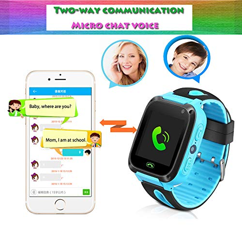 Kids smartwatch with Call and Location Tracking, Emergency S... 6
