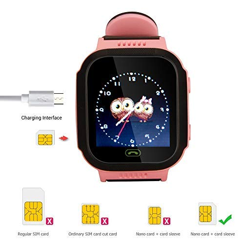Kids smartwatch with Call and Location Tracking, Emergency S... 7