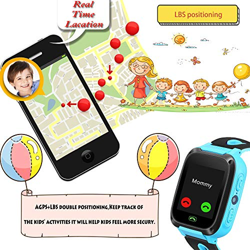 Kids smartwatch with Call and Location Tracking, Emergency S... 4
