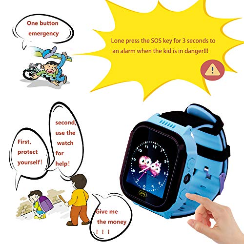 Kids smartwatch with Call and Location Tracking, Emergency S... 3