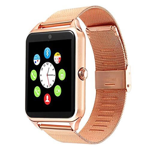 Bluetooth Smart Watch DOROIM Stainless Steel Strap, Camera, ... 1