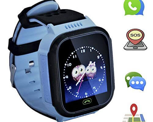Kids smartwatch with Call and Location Tracking, Emergency S...