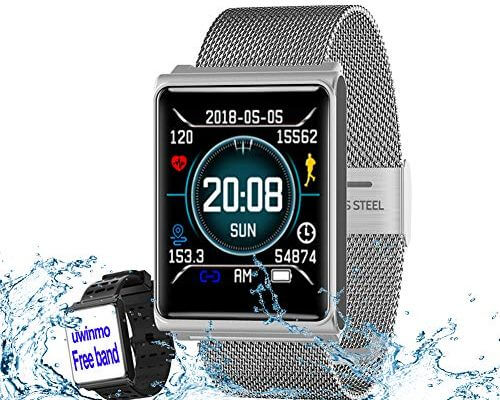 Smart Watch, Fitness Tracker Heart Rate & Blood Pressure & S...