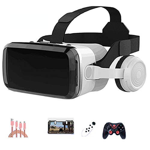AYI 3D VR Glasses, Head-Mounted Virtual Reality Glasses, Sui... 1
