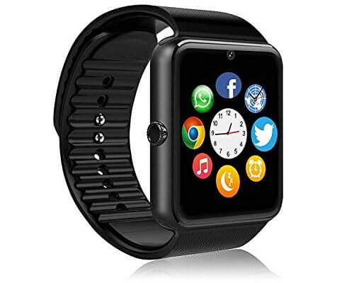 FHDCAM Smart Watch Compatible for iPhone 5s/6/6s/7/7s and An...