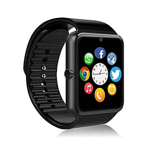 FHDCAM Smart Watch Compatible for iPhone 5s/6/6s/7/7s and An... 1