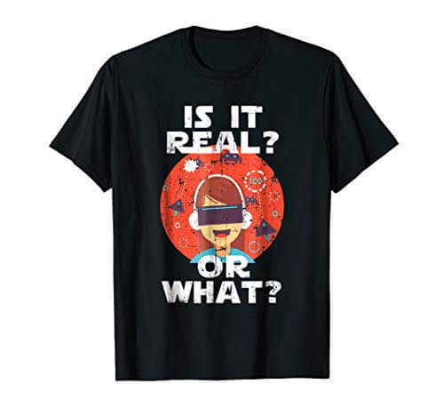 Virtual Reality HMD Interactive Game VR Headset T-Shirt 1