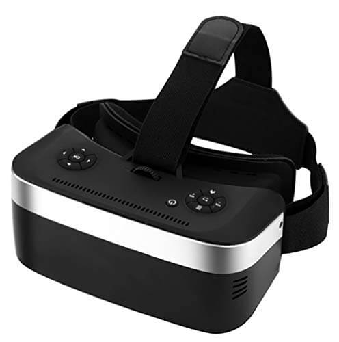 YDZSBYJ VR Headsets VR Glasses, Head-Mounted 3D 360 Degrees ... 1