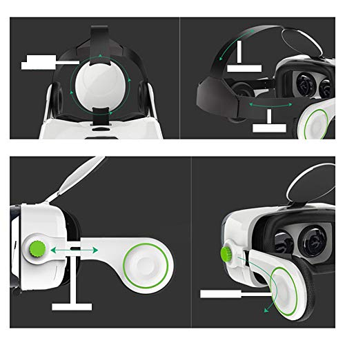 YANJINGYJ VR Headsets,3D Vr Glasses Virtual Reality Glasses,... 6