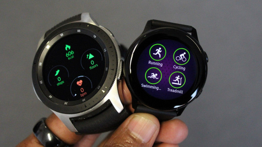 Samsung Galaxy Watch v Galaxy Watch Active: Smartwatch shoot-out