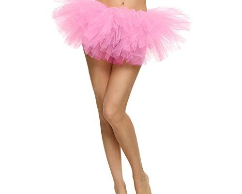 TWGONE Tulle Skirt For Women Pretty Girl Elastic Stretchy Tu...