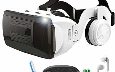 YANJINGYJ VR Glasses Virtual Reality Glasses, Head-Mounted S...