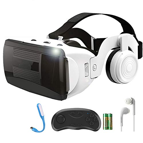 YANJINGYJ VR Glasses Virtual Reality Glasses, Head-Mounted S... 1